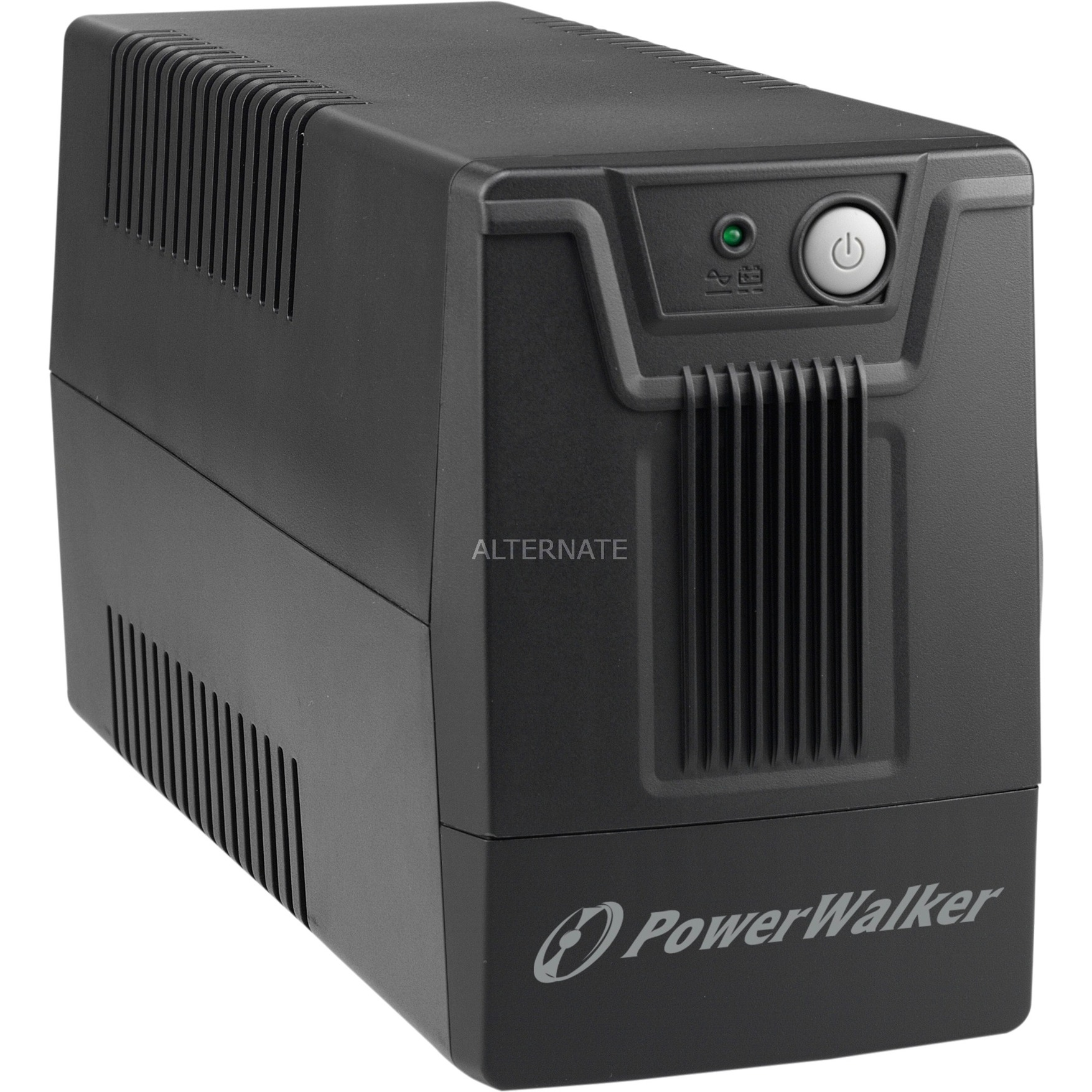 10121025 Línea interactiva 800VA 2salidas AC sistema de alimentación ininterrumpida (UPS)