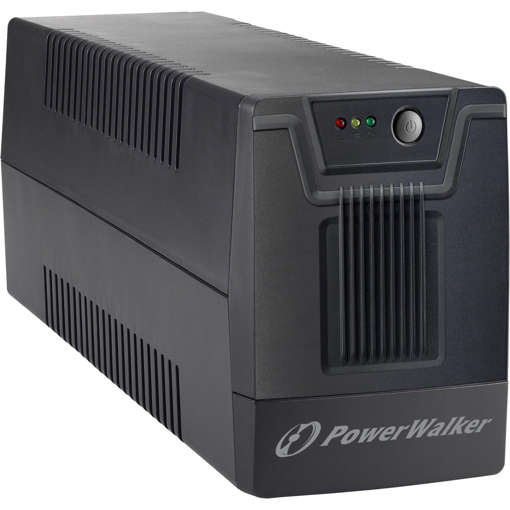 10121027 Línea interactiva 1500VA 4salidas AC sistema de alimentación ininterrumpida (UPS)