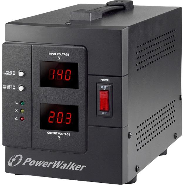 AVR 2000/SIV regulador de voltaje 230 V 2 salidas AC Negro