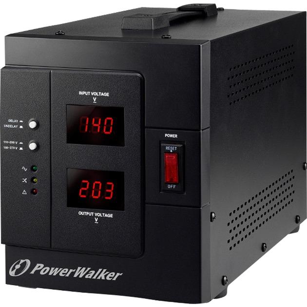 AVR 3000/SIV 230V Negro regulador de voltaje