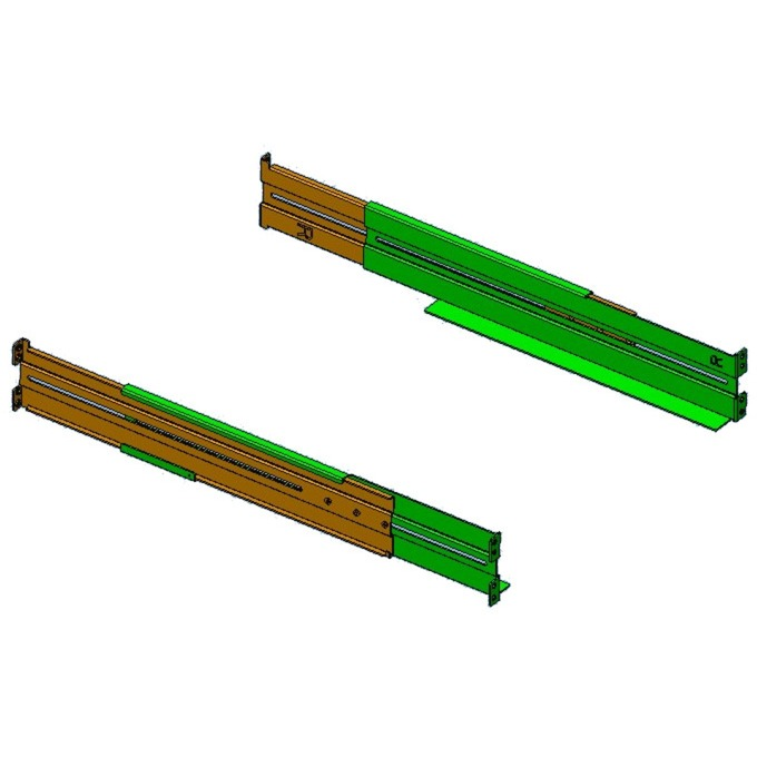 RK6 Kit de montaje, Raíles de instalación