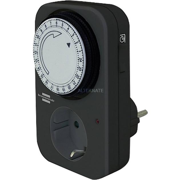 24 h Timer MZ 20 limitador de tensión Negro, Temporizador