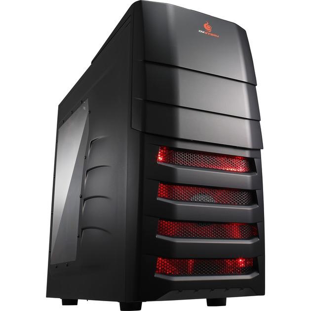 Enforcer Midi-Tower Negro carcasa de ordenador, Cajas de torre