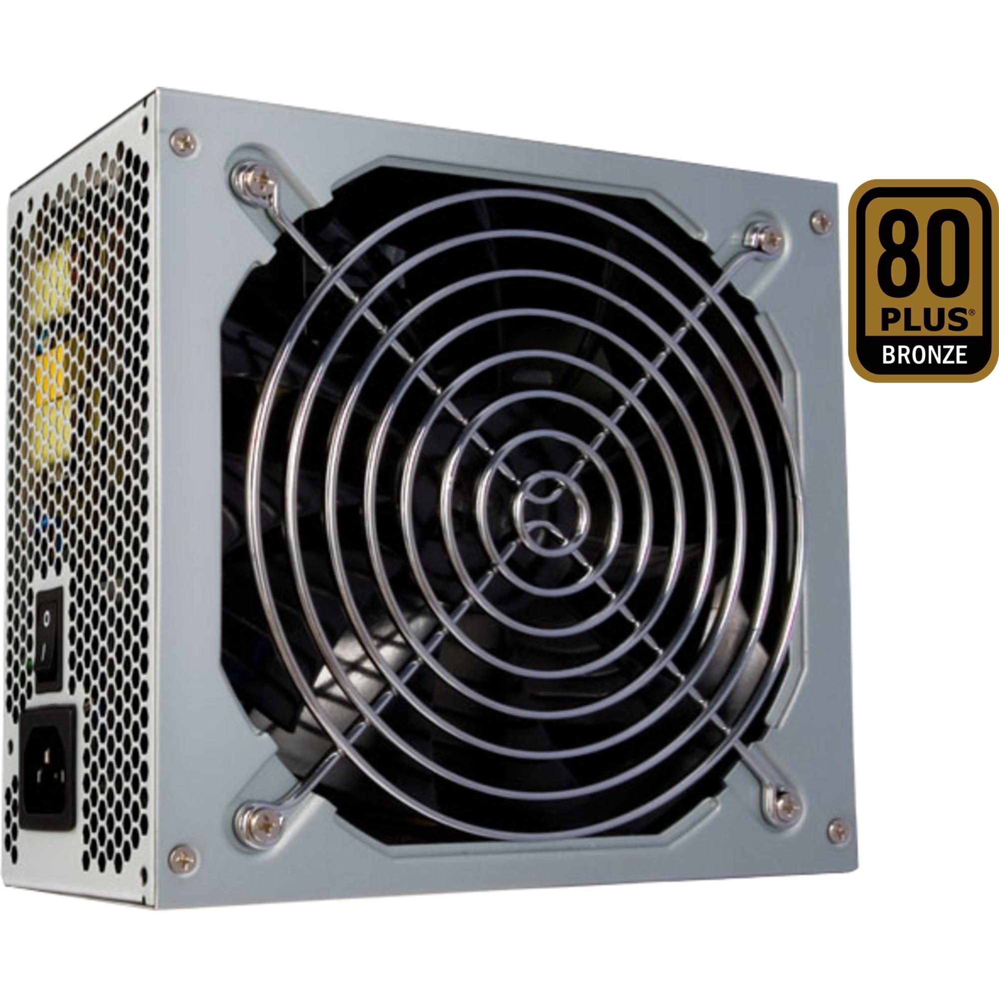 APS-500SB unidad de fuente de alimentación 500 W PS/2 Gris, Fuente de alimentación de PC