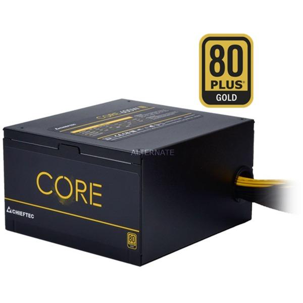BBS-600S unidad de fuente de alimentación 600 W PS/2 Negro, Fuente de alimentación de PC