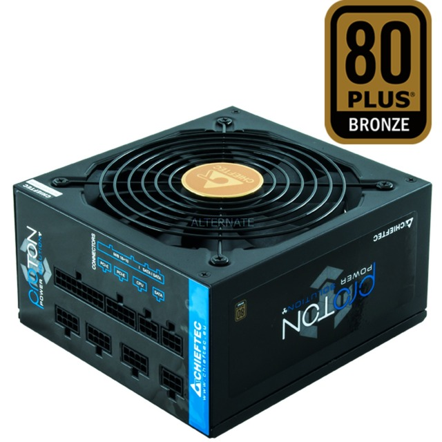 BDF-1000C unidad de fuente de alimentación 1000 W PS/2 Negro, Fuente de alimentación de PC