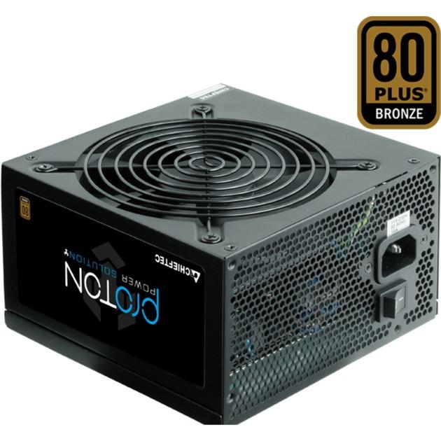 BDF-600S unidad de fuente de alimentación 600 W ATX Negro, Fuente de alimentación de PC
