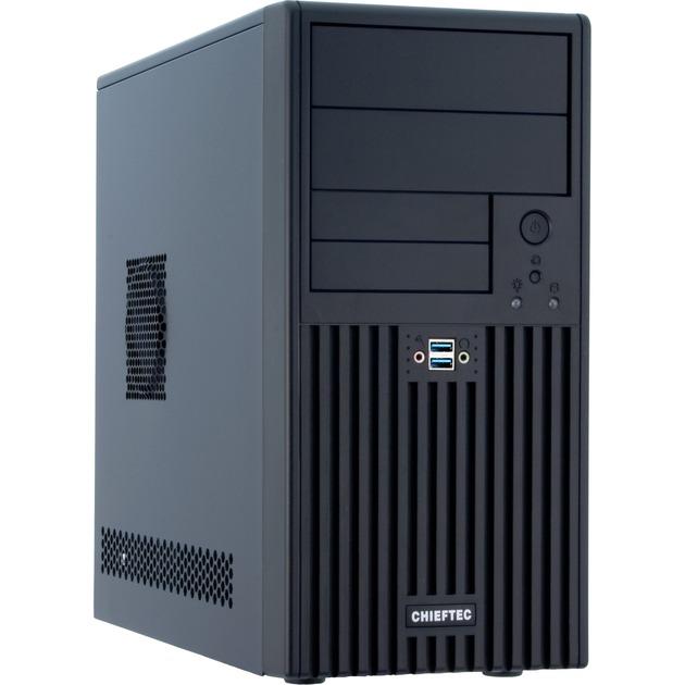 BD-02B-U3-OP carcasa de ordenador Mini-Tower Negro, Cajas de torre