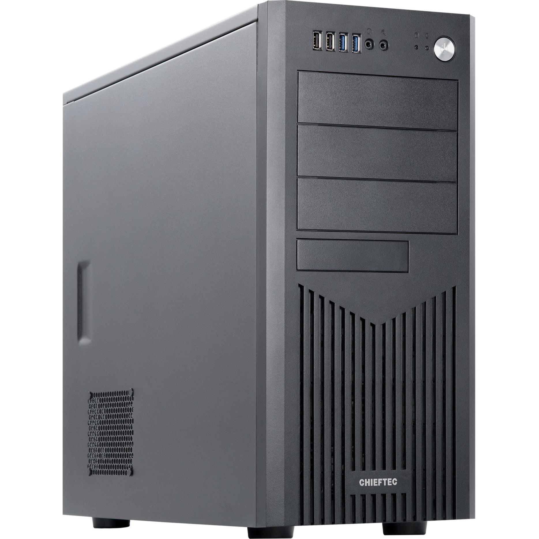 BM-25B-OP carcasa de ordenador Negro, Cajas de torre