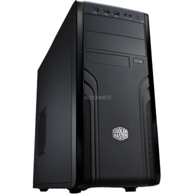 CM Force 500 carcasa de ordenador Midi-Tower Negro, Cajas de torre