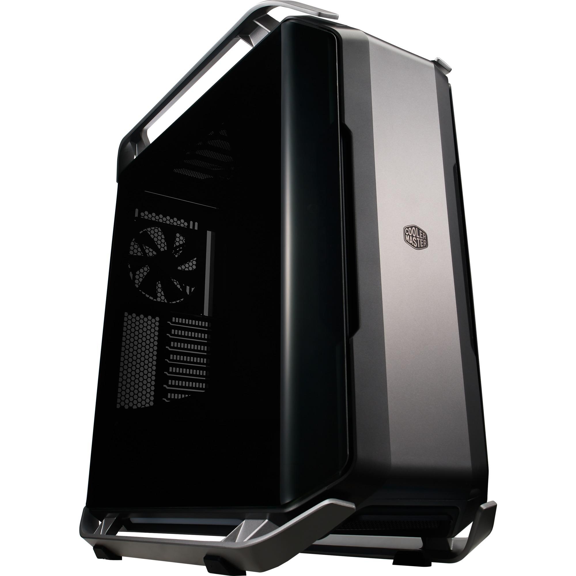 Cosmos C700P Full-Tower Negro, Metálico carcasa de ordenador, Cajas de torre