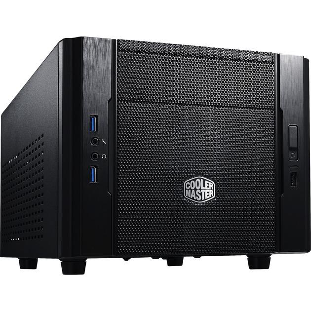 Elite 130 carcasa de ordenador Cubo Negro, Cajas de torre