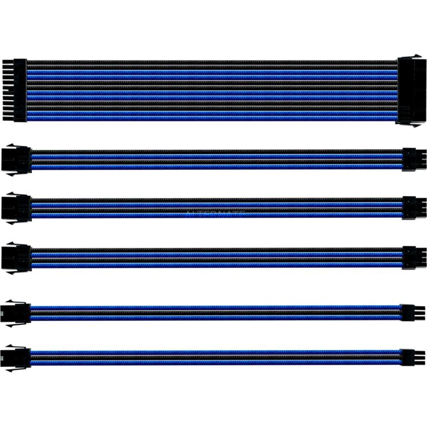 Gaming CMA-SEST16BLBK1-GL parte carcasa de ordenador Universal Kit de gestión de cables, Administración de cables