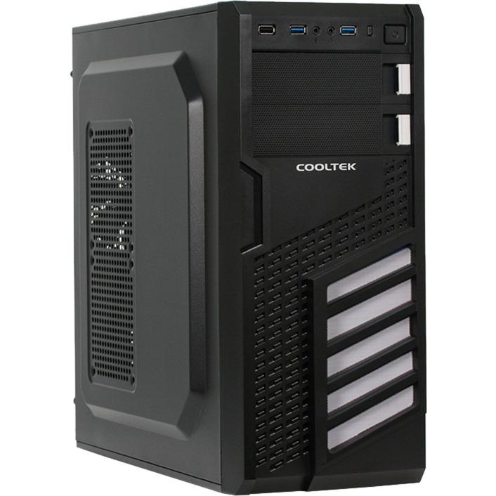 CT KX W Midi-Tower Negro, Color blanco carcasa de ordenador, Cajas de torre