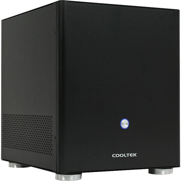 Coolcube Maxi carcasa de ordenador Cubo Negro, Caja HTPC