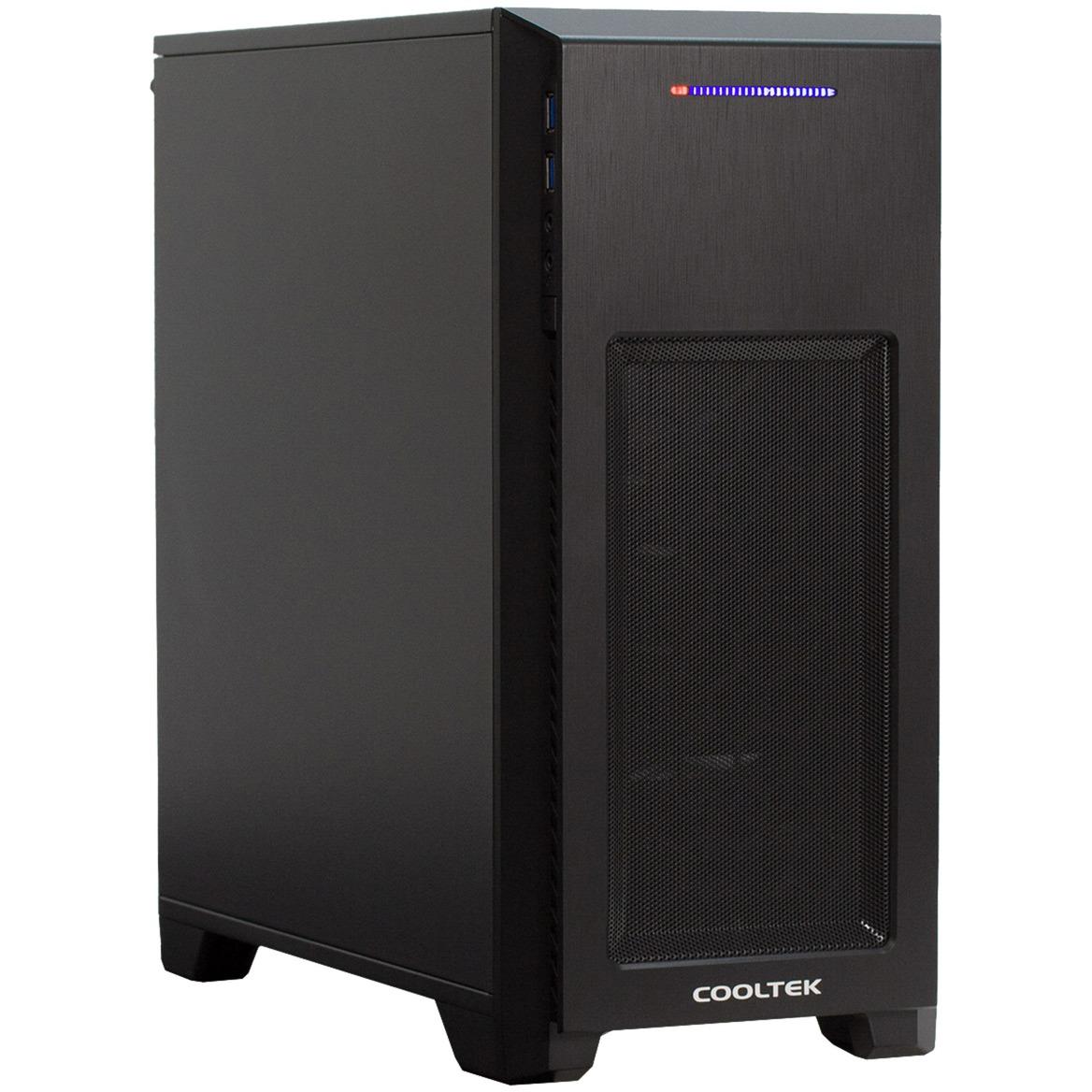 MT-03 carcasa de ordenador Mini-Tower Negro, Cajas de torre