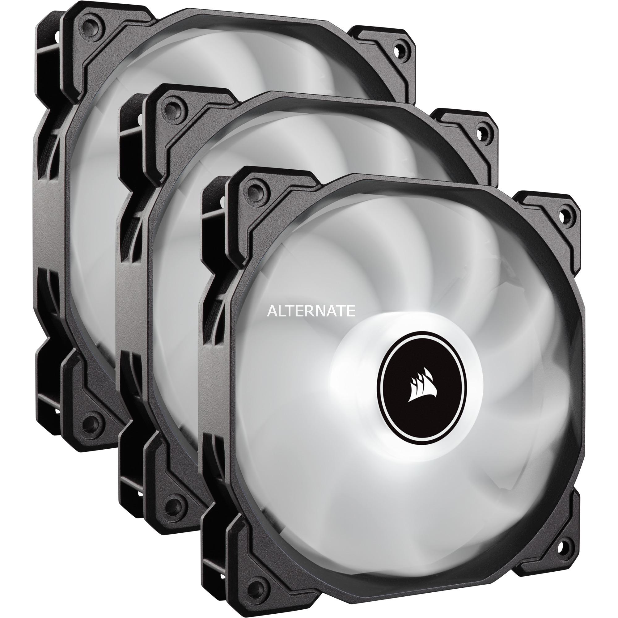 AF Series, AF120 LED (2018), White, 120mm, Triple Pack, Ventilador