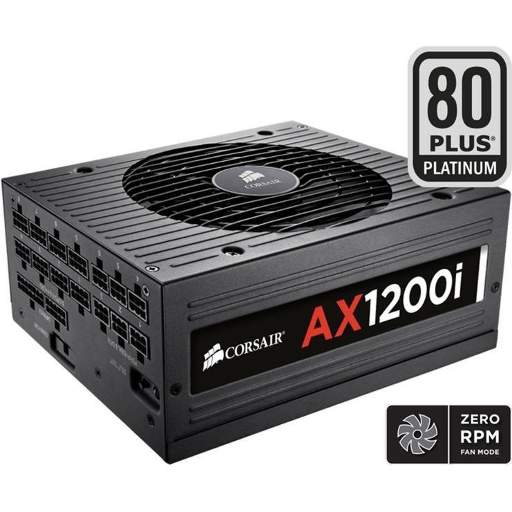 AX1200i unidad de fuente de alimentación 1200 W ATX Negro, Fuente de alimentación de PC