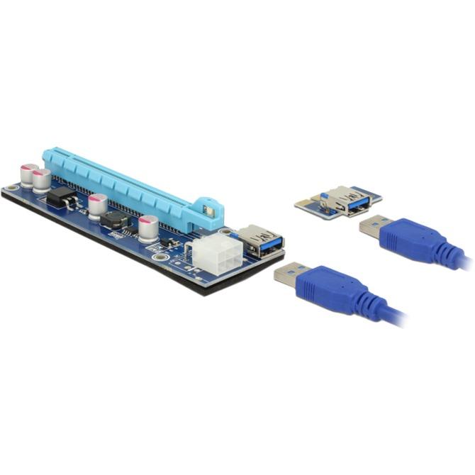 41426 tarjeta y adaptador de interfaz Interno PCI, PCIe, USB 3.0, Tarjeta de ampliación