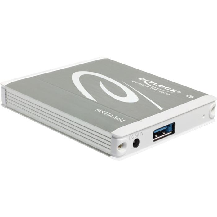 42571 SSD enclosure Plata caja para disco duro externo, Caja de unidades