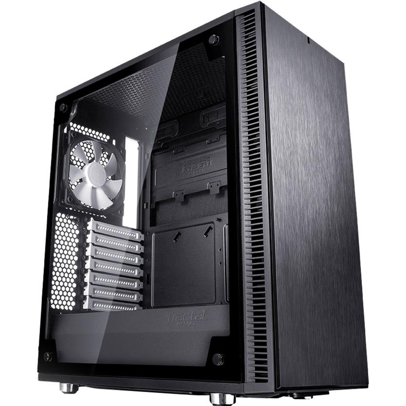 Define C TG Midi-Tower Negro carcasa de ordenador, Cajas de torre