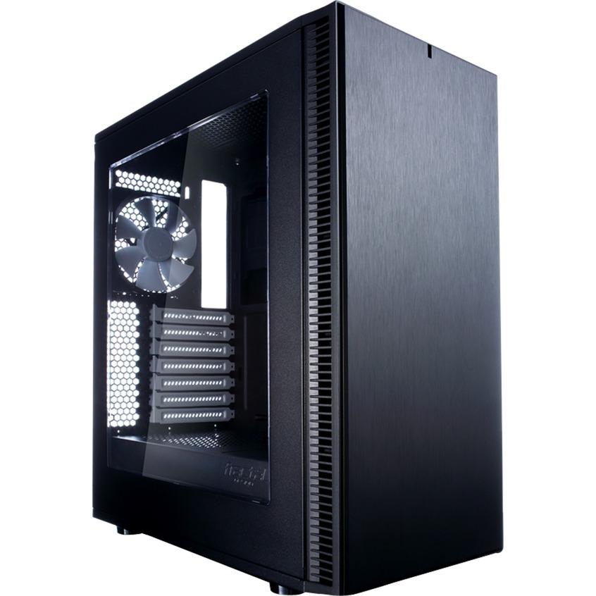 Define C - Window Negro carcasa de ordenador, Cajas de torre