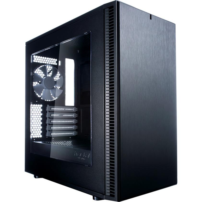 Define Mini C carcasa de ordenador Mini-Tower Negro, Cajas de torre