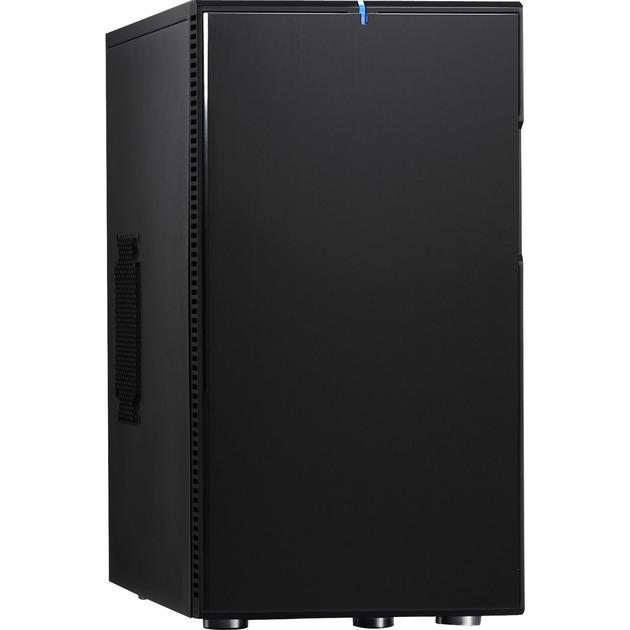 Define Mini Negro carcasa de ordenador, Cajas de torre