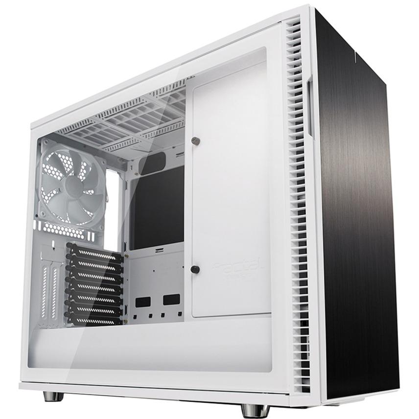 Define R6 Midi-Tower Blanco carcasa de ordenador, Cajas de torre