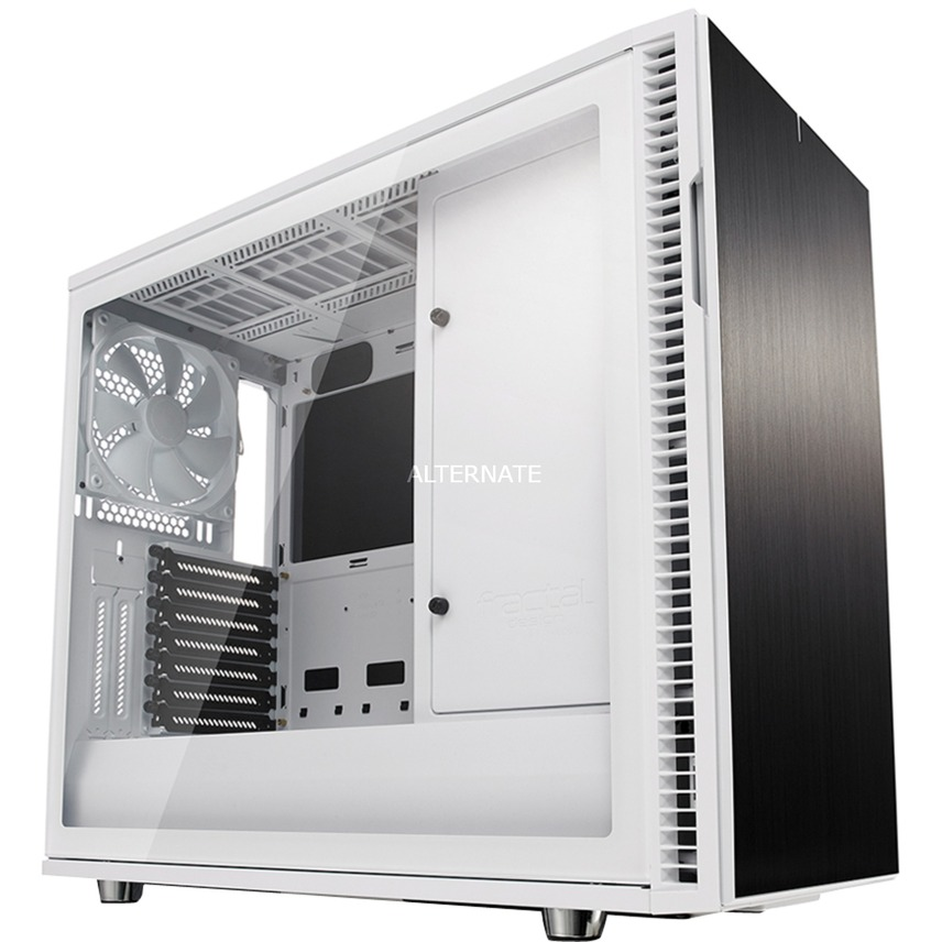Define R6 carcasa de ordenador Midi-Tower Blanco, Cajas de torre