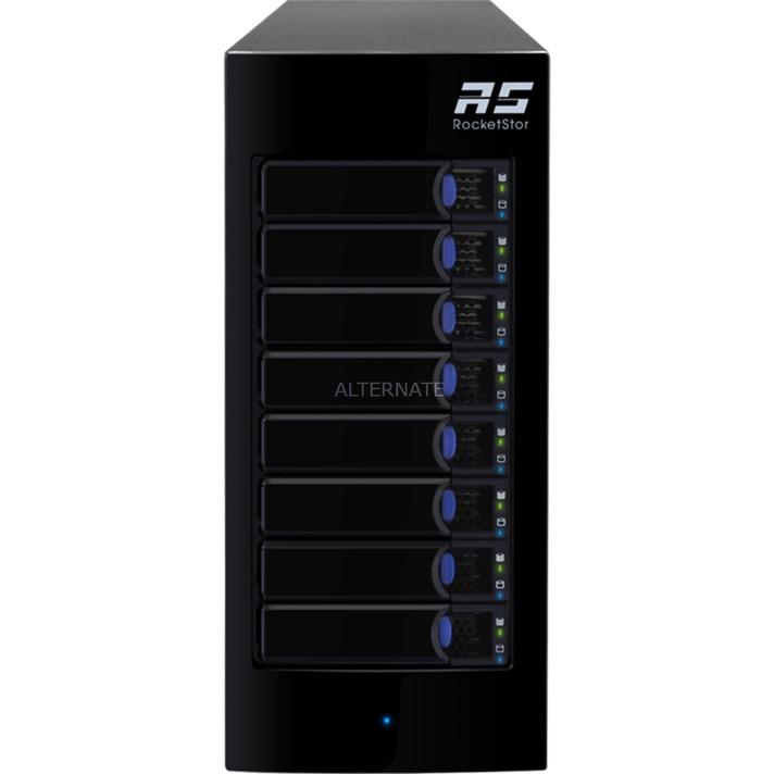 RocketStor 6418AS, Caja de unidades