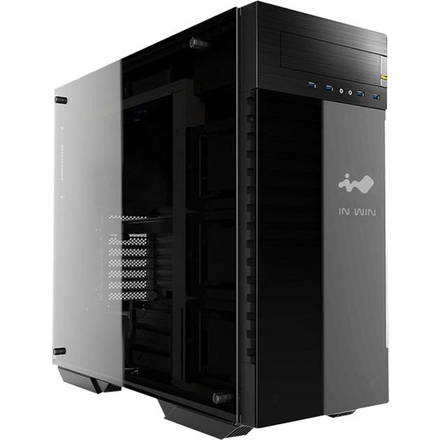 509 Full-Tower Negro, Gris carcasa de ordenador, Caja de torre grande