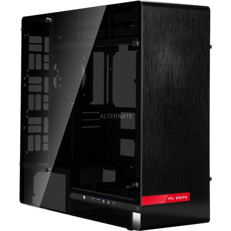 909 Full-Tower Negro carcasa de ordenador, Caja de torre grande