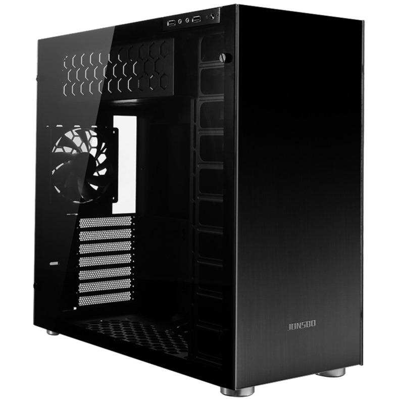 C4 Full-Tower Negro carcasa de ordenador, Cajas de torre
