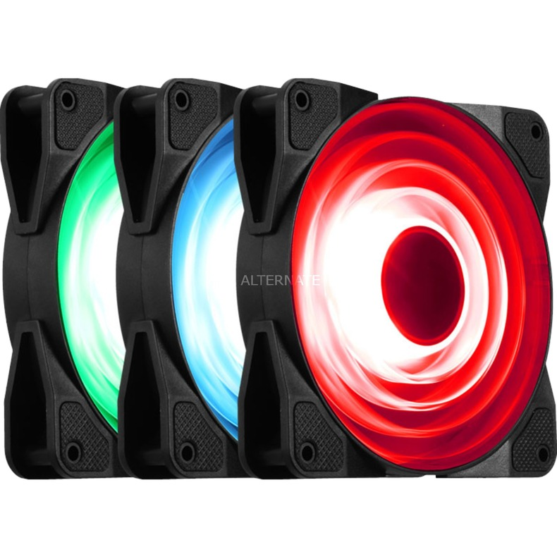 FR531 RGB Carcasa del ordenador Ventilador ventilador de PC