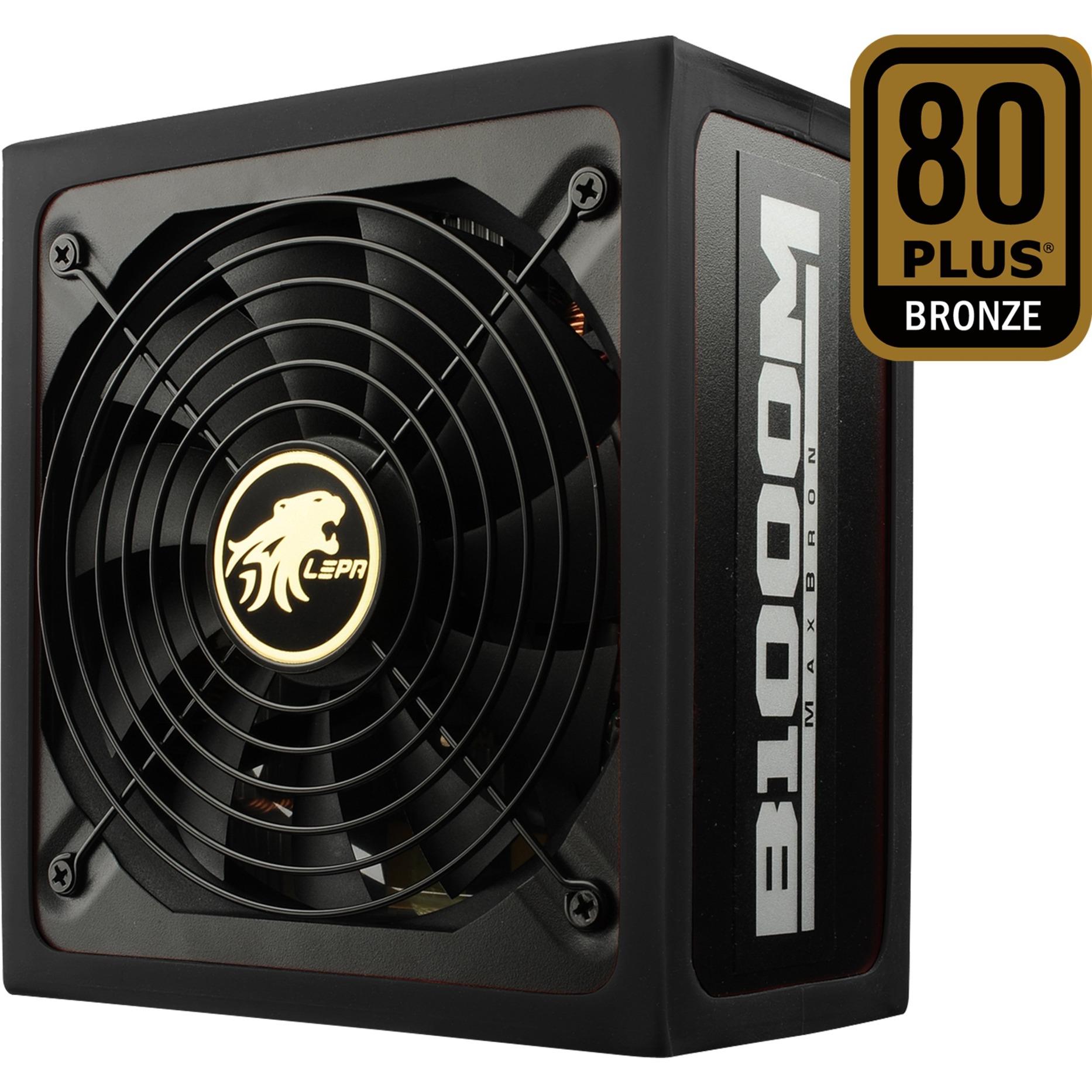 B1000-MB 1000W ATX Negro, Rojo unidad de fuente de alimentación, Fuente de alimentación de PC