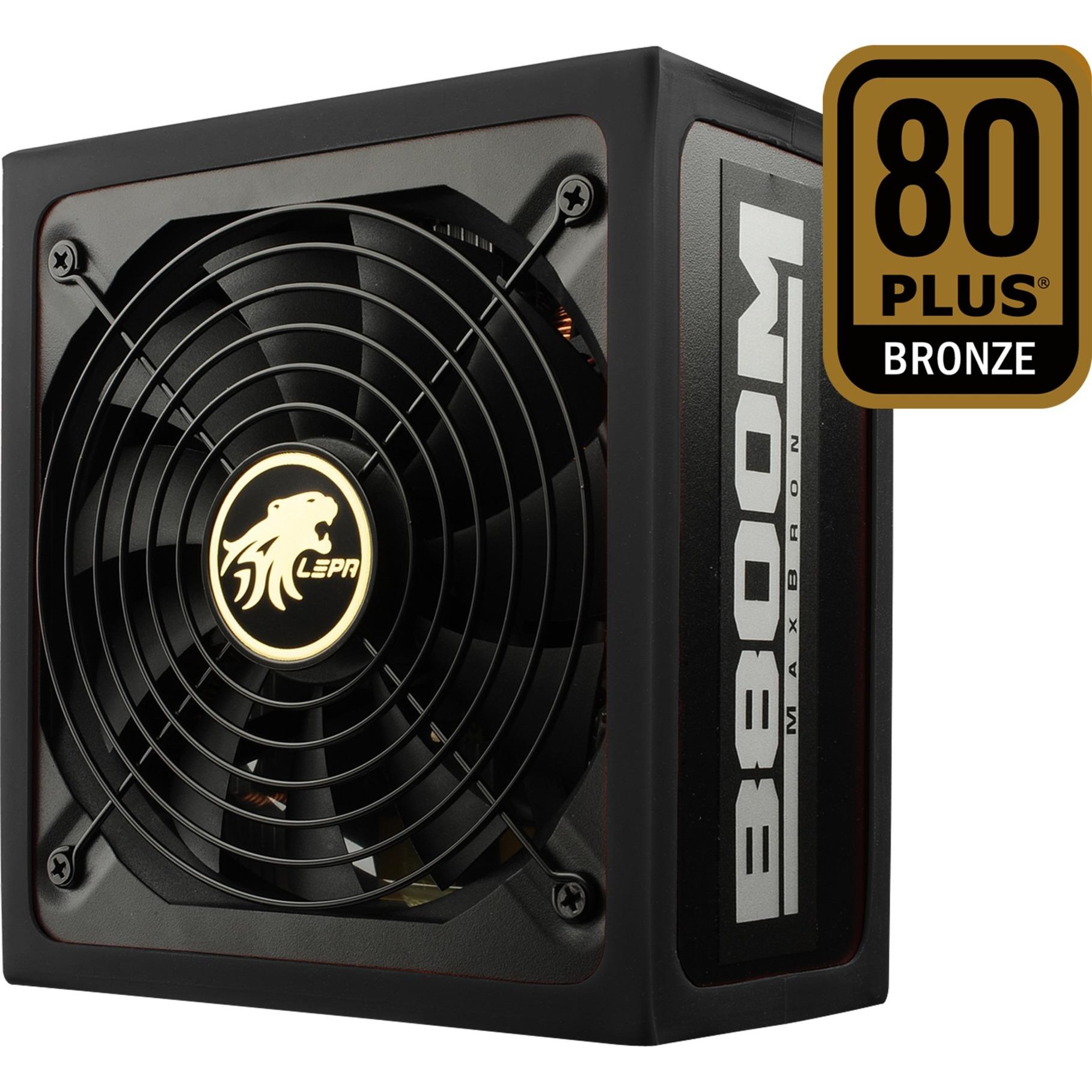 B800-MB unidad de fuente de alimentación 800 W ATX Negro, Rojo, Fuente de alimentación de PC