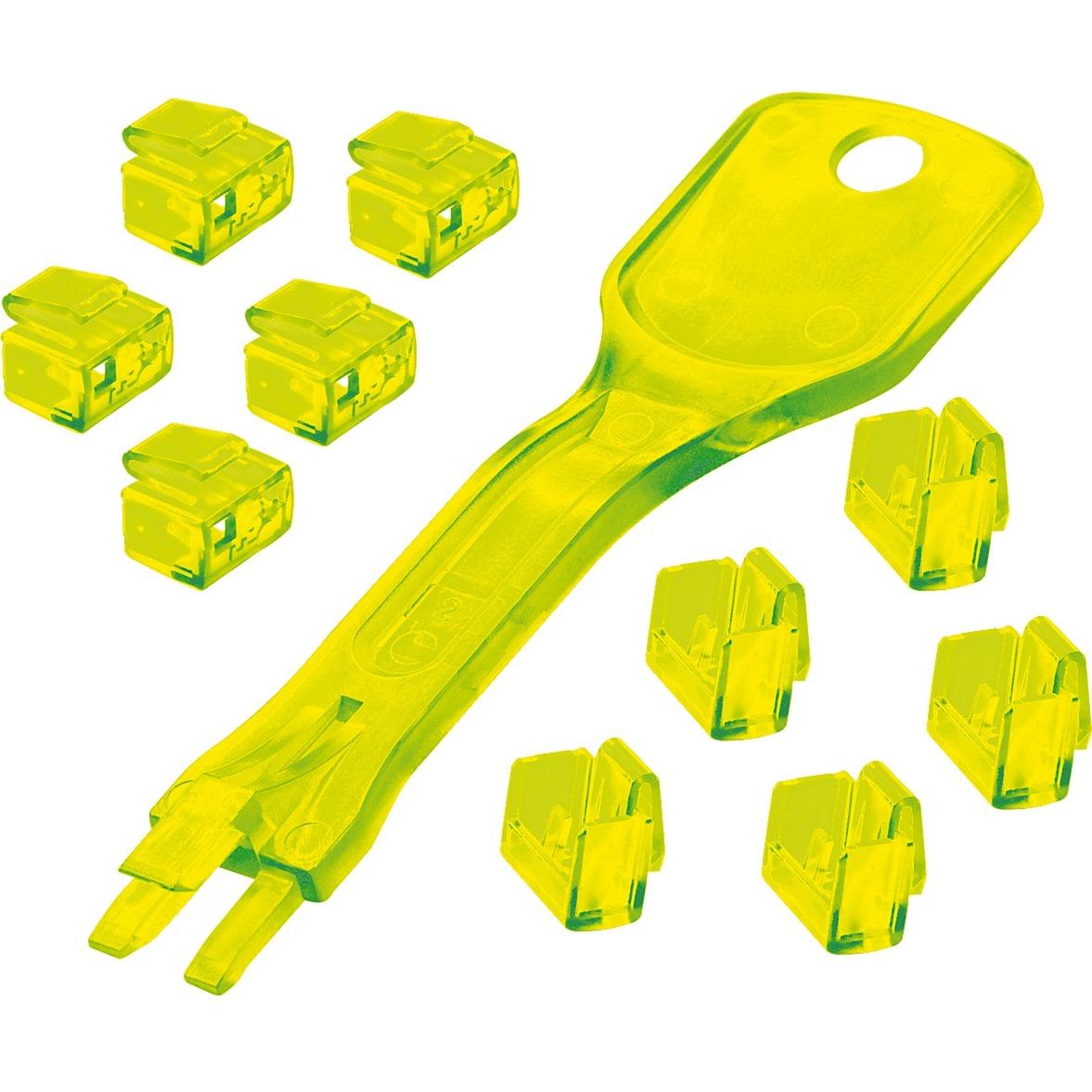 40482 Amarillo cable antirrobo, Protección contra robos