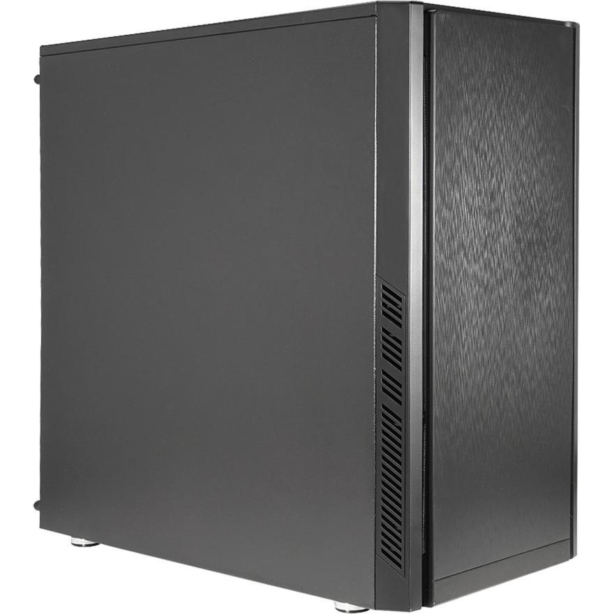 CA-0330 Midi-Tower Negro carcasa de ordenador, Cajas de torre