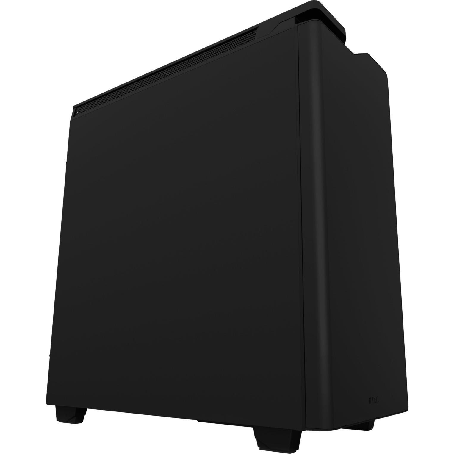 CA-H442C-M8 carcasa de ordenador Midi-Tower Negro, Cajas de torre
