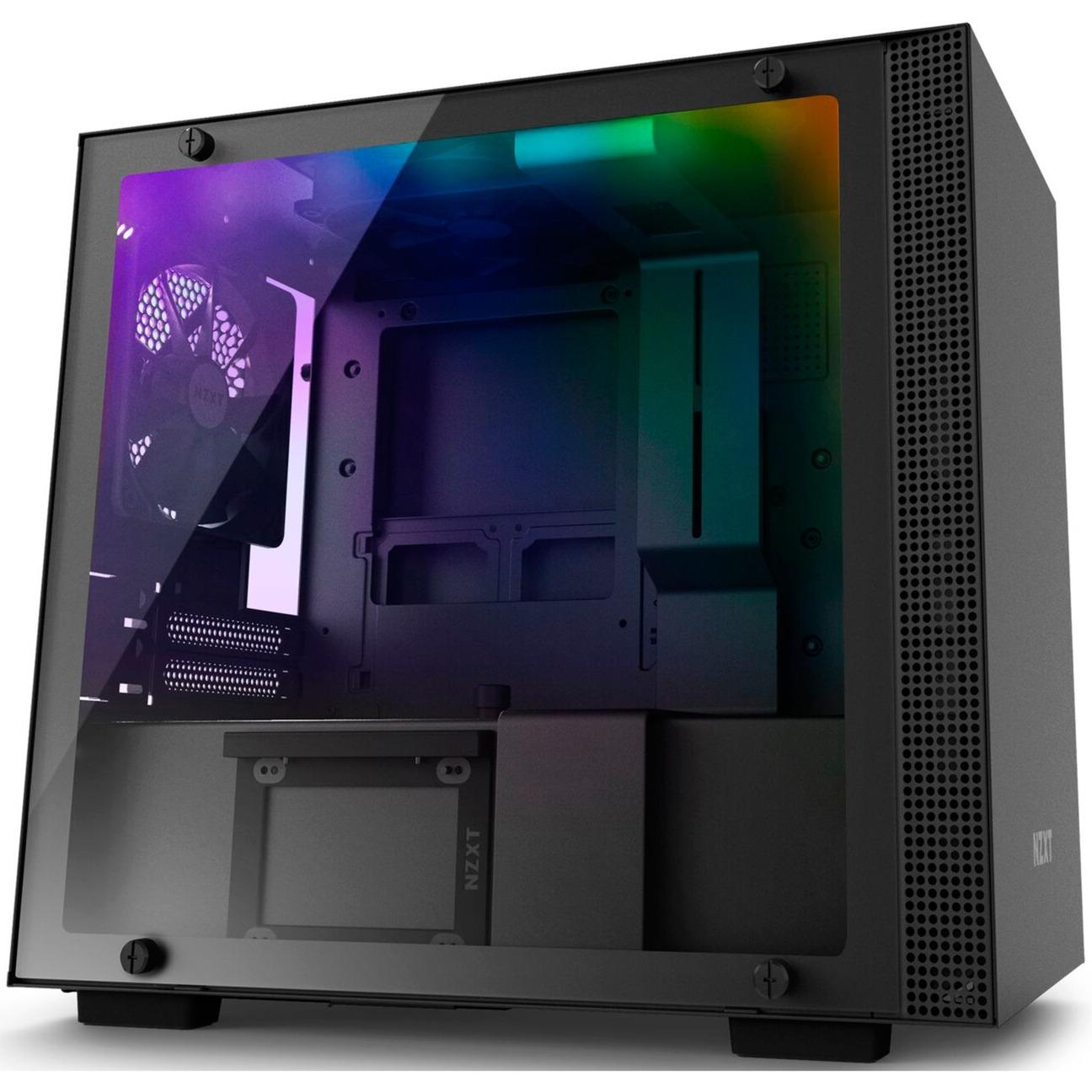 H200i carcasa de ordenador Mini-Tower Negro, Cajas de torre