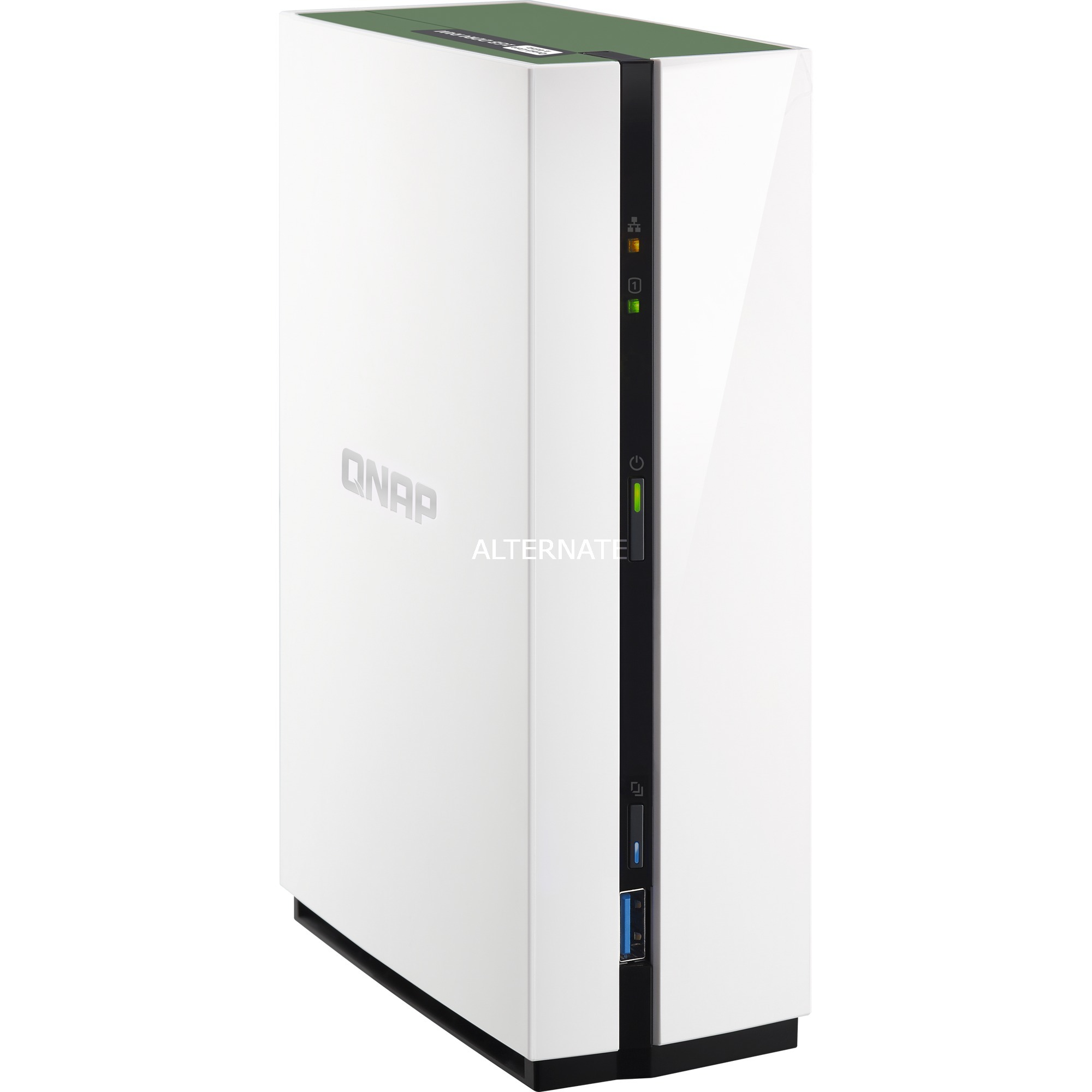 TS-128A servidor de almacenamiento Ethernet Mini Tower Blanco NAS