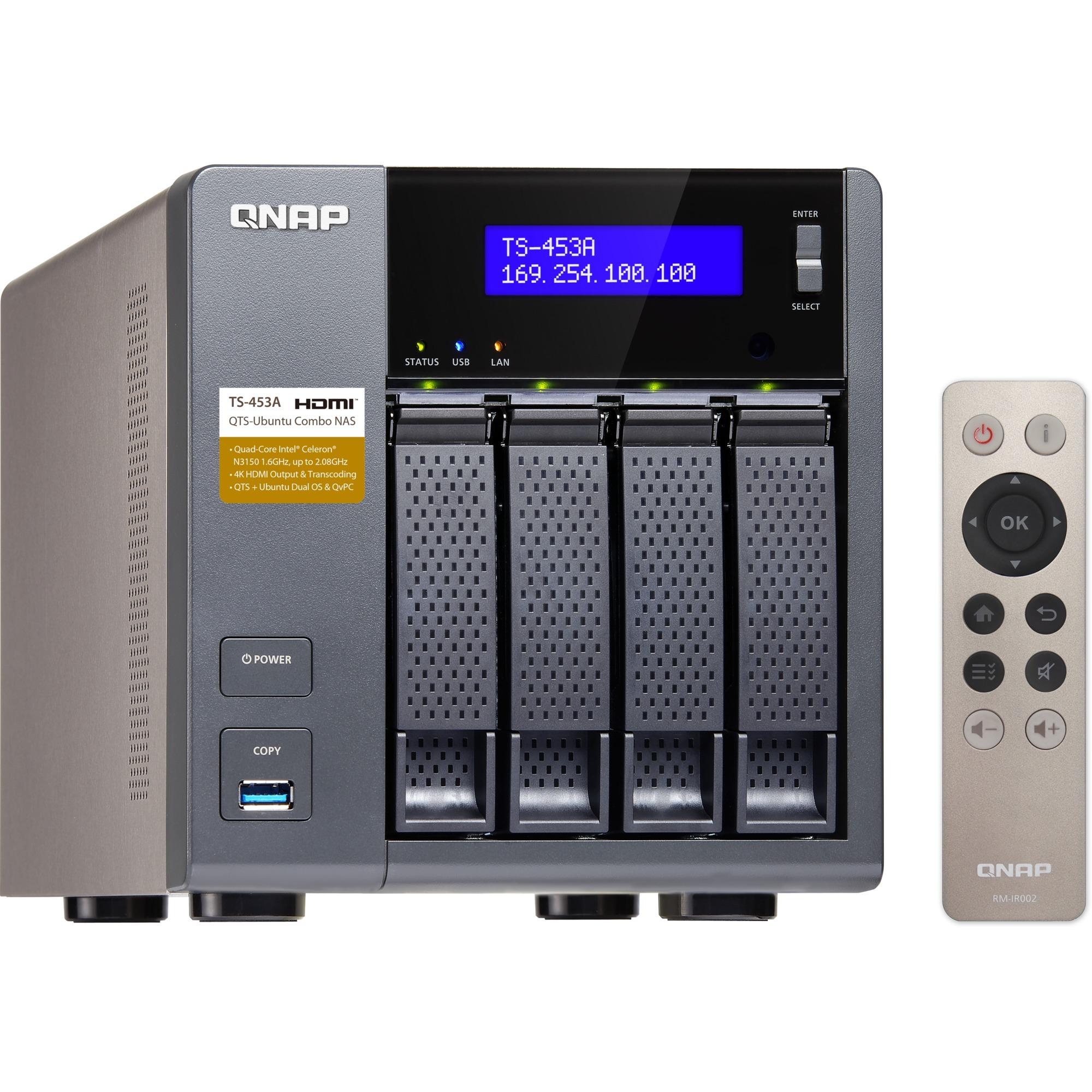 """TS-453A-4G 4x1,6Ghz/4GB/4x3,5"""" , NAS"""