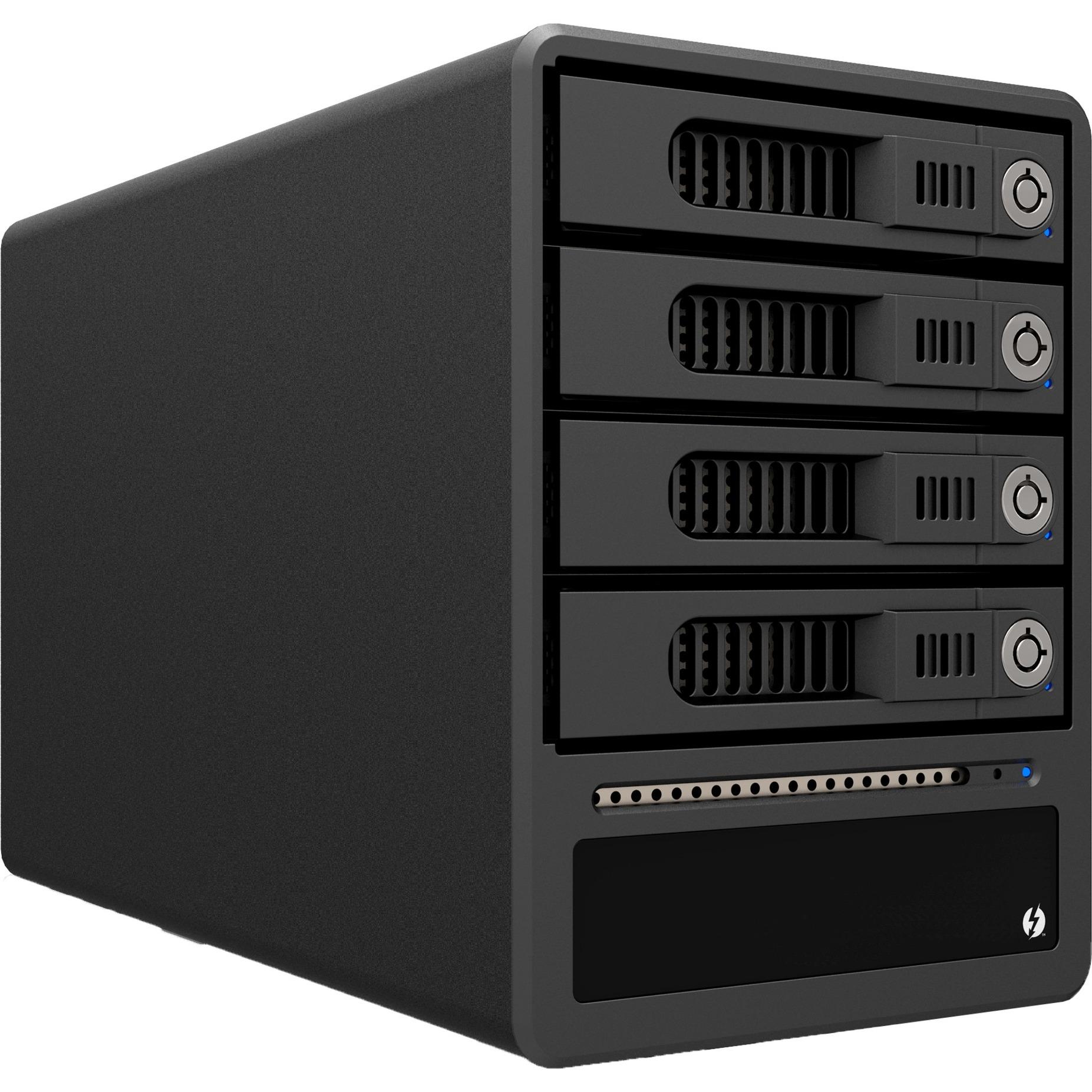 """GT4670-TB Carcasa de disco duro/SSD 2.5/3.5"""" Negro, Caja de unidades"""