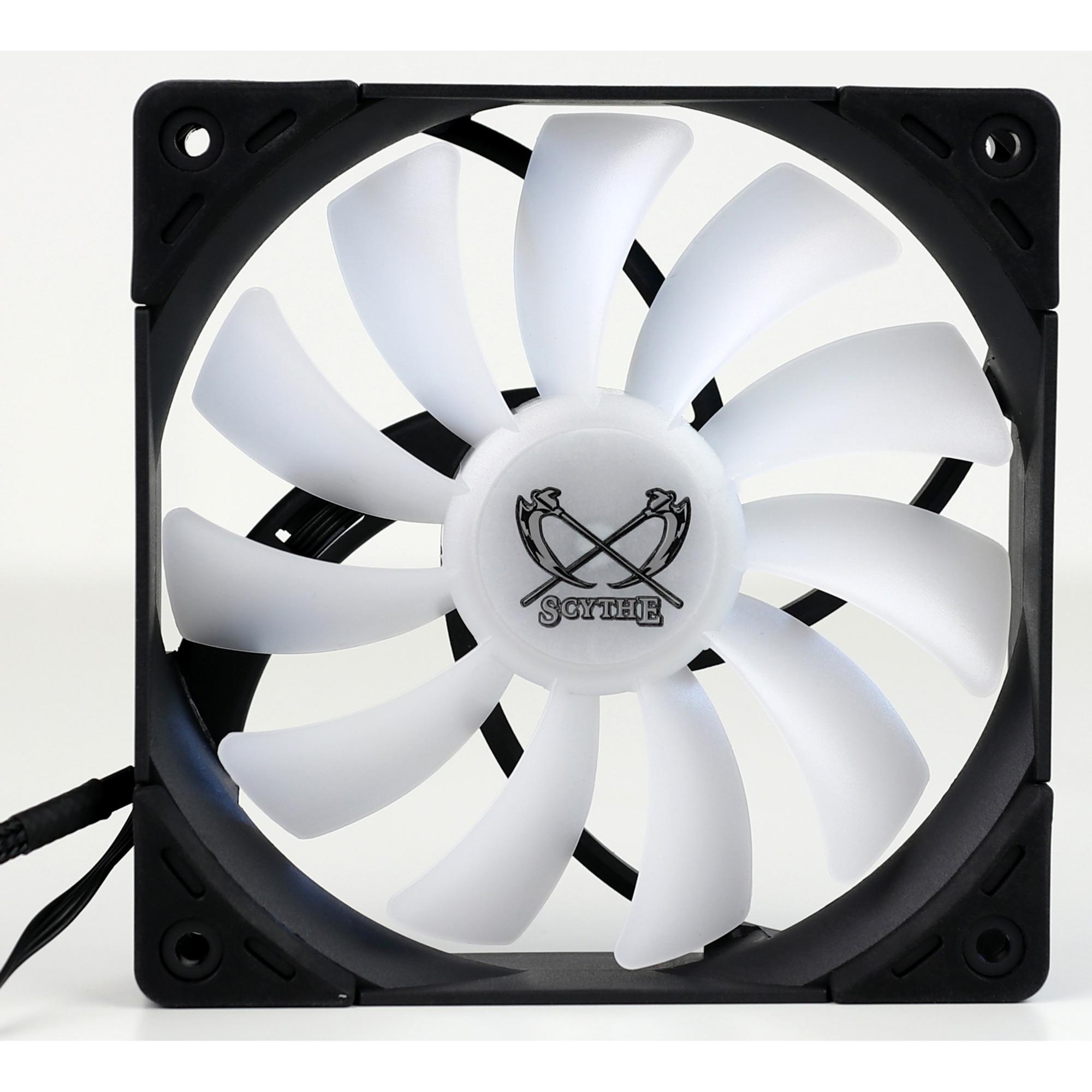 Kaze Flex RGB 1200 120x120x27, Ventilador