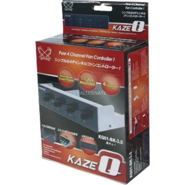 """Kaze Q 3.5"""", Control del ventilador"""