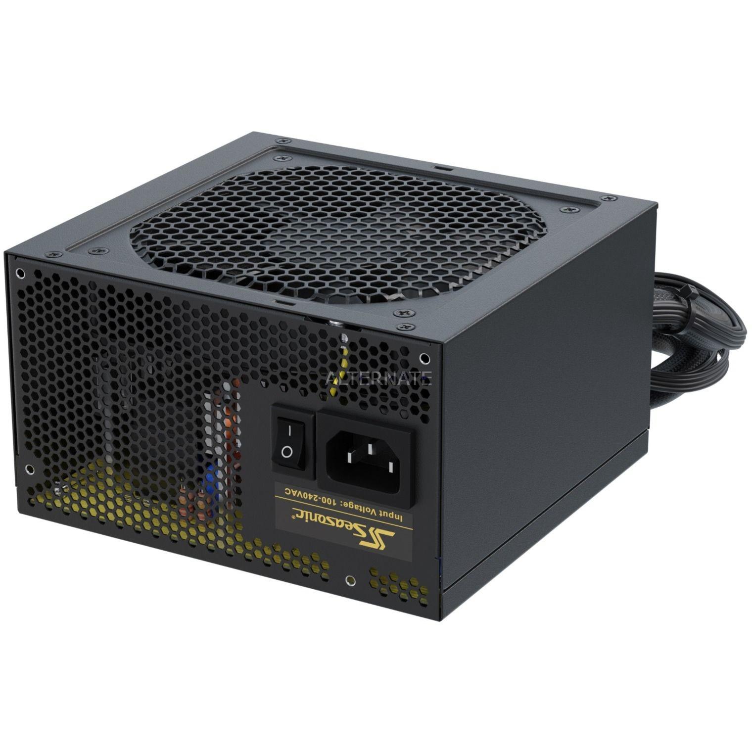 CORE-GC-650 unidad de fuente de alimentación 650 W ATX Negro, Fuente de alimentación de PC