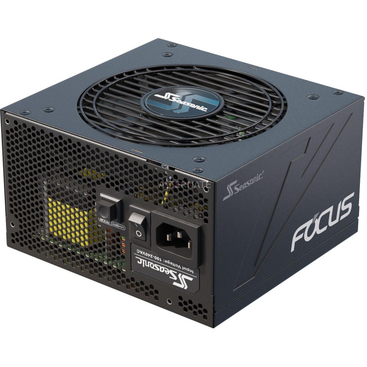 FOCUS-GX-550 unidad de fuente de alimentación 550 W ATX Negro, Fuente de alimentación de PC