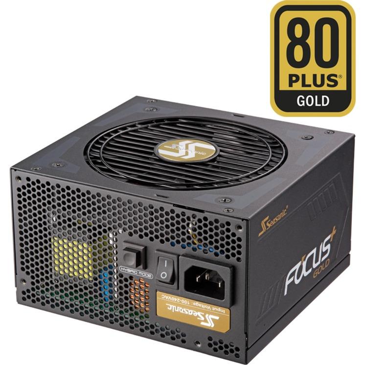 FOCUS Plus 850 Gold 850W ATX Negro unidad de fuente de alimentación, Fuente de alimentación de PC