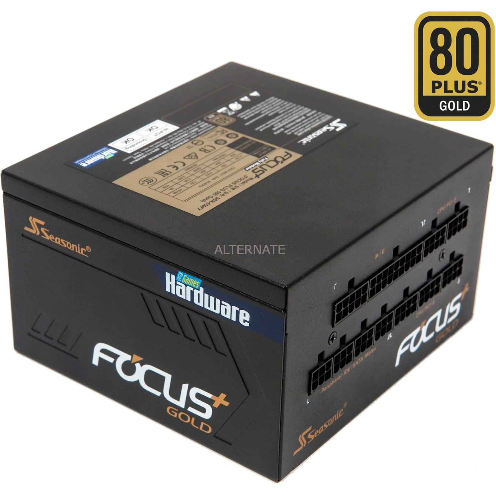 FOCUS Plus PCGH 550 Gold, Fuente de alimentación de PC
